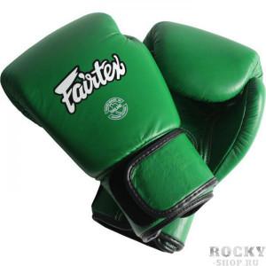 Боксерские перчатки Fairtex BGV16 Forest Green , 10 OZ Fairtex